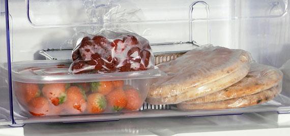 Un aliment peut-être congelé pour prolonger sa date d'expiration