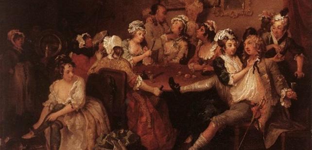 In 18th century London, 1 in 5 women was a prostitute!