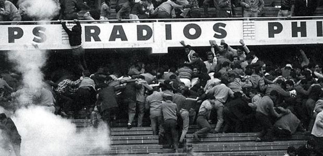 In 1964, during a football match in Peru, the referee caused a riot that killed more than 300 people!