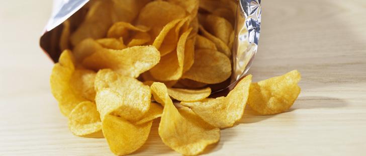 Pourquoi le paquet de chips est toujours à moitié vide !