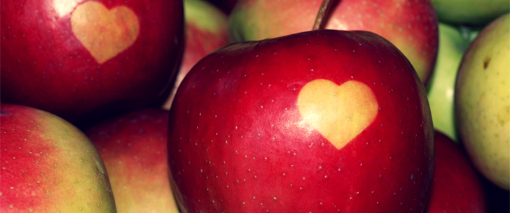 In ancient Greece, throwing an apple on a woman was considered a marriage proposal!