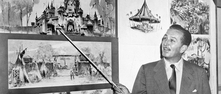 Walt Disney was once fired by a newspaper for not being creative enough!